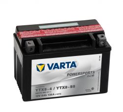 VARTA YTX9 BS FUNSTART AGM MOTORCYCLE BATTERY (508 012 008) (YTX9BS) 12V 8Ah